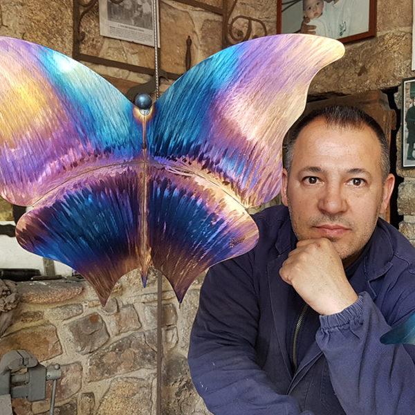 Quando il ferro… vola. Roberto Ziranu, un moderno alchimista